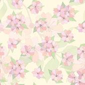 Seamless sfondo fiore. — Vettoriale Stock