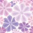 Floral seamless background. — Stock Vector