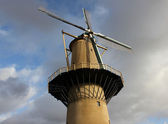 Old wind mill in the Netherlands — Stock Photo