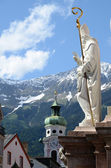 Annasaule in Innsbruck — Stock Photo