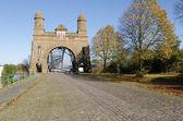 Старый мост harburg в Гамбург на Эльбе — Стоковое фото