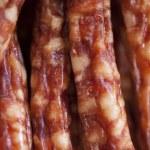 Sausage listed — Stock Photo