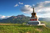 One pagoda face Niuxin Mountain — Stock Photo