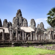 Temples of Angkor. Bayon — Stock Photo