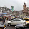 Traffic in Mumbai - Stock Photo