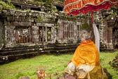Stone Buddha — Stock Photo