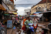 Street in Cambodia — Stock Photo