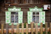 木製窓 — ストック写真