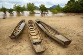 Boats moored — Stock Photo