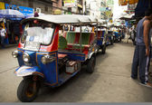 Transportation in Bangkok — Stock Photo