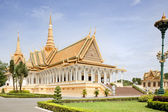 Royal Palace. Phnom Penh — Stock Photo