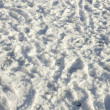 Dirty snow — Stock Photo