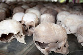 Campos de exterminio. choeung ek — Foto de Stock