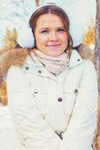 Kış portresi — Stok fotoğraf