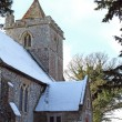 East Langdon Church, Kent in winter — Stock Photo