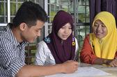 Muslim Student Study Group — Stock Photo