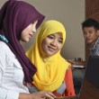 Foto de Stock  : Muslim Student Discussion