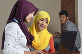 Muslim Student Discussion — Stockfoto