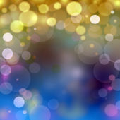 Dreamy lights background — Stock Photo