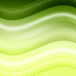 Stock Photo: Green waves background