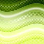 Green waves background — Stock Photo