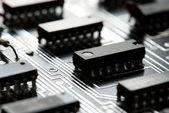 Resumen de circuitos impresos — Foto de Stock