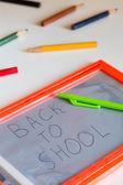 Powrót do koncepcji szkoły — Zdjęcie stockowe