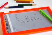 Vuelta al concepto de escuela — Foto de Stock