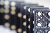 Macro di domino — Foto Stock