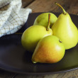 Delicious ripe sliced pear — Stock Photo