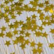 Golden Christmas stars — Stock Photo #36313699