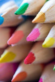 Abstract background of colorful pencils — Stock Photo