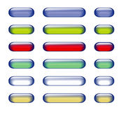 Glass button — Stock vektor