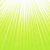 Green star background — Stock Photo