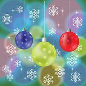 абстрактный фон рождество — Cтоковый вектор