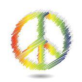 Icona di pace — Vettoriale Stock