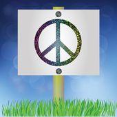 Barış işareti — Stok Vektör