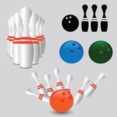 Bowling — Stok Vektör