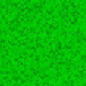 Green triangle background — Vector de stock