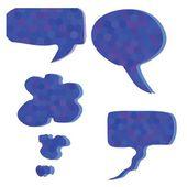 Burbujas de discurso — Vector de stock