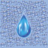 Water background — Stock Vector
