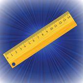 Ruler — Stock Vector