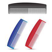 set of combs — Stock Photo