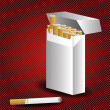 cigarett pack — Stockfoto #46737583