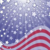 Starry flag — Stock Photo