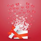 Heart box — Stock Photo