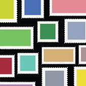 Stamps background — Stock Photo