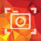 Camera symbol — Stock Photo