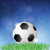 Fond de football — Photo