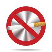 No fumar — Vector de stock